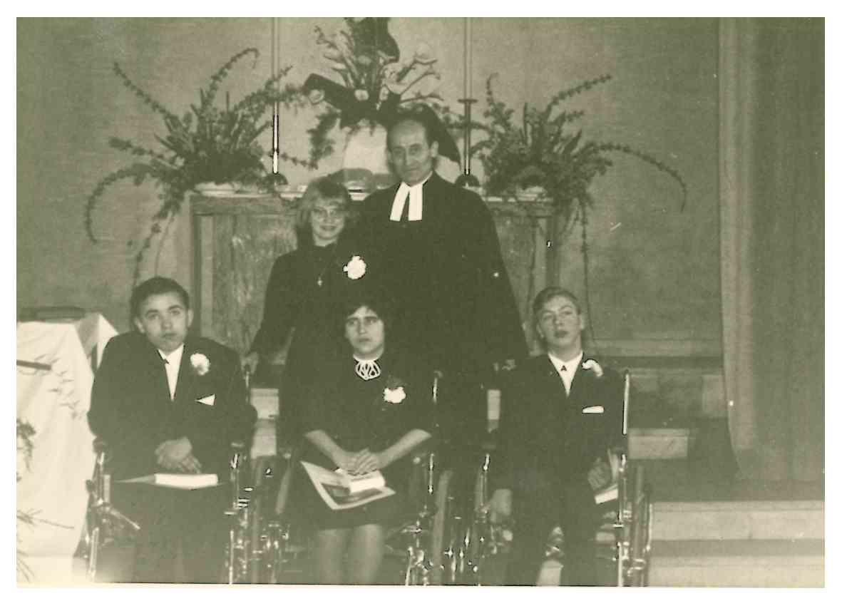 Konfirmation 1966-03-13 Simultankirche